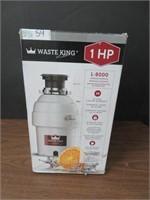 WASTE KING 1 HP L-8000 GARBAGE DISPOSAL