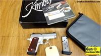 "Kimber MICRO 9 9MM Pistol. Like New. 3"" Barrel. Fe"
