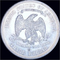 1877-S Silver Trade Dollar UNCIRCULATED