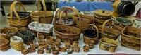 Longaberger Baskets, Miniature Baskets Etc