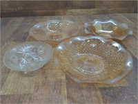 Glass Serving Dishes (4)
