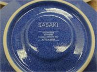 Sasaki Sapphire Plate Set (4pc)