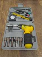 Ratcheting Nut Driver Tool Set