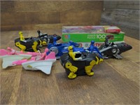 Power Rangers Figures and Puzzles