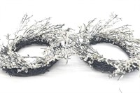 Holiday Faux Antlers, Crystal Sparkle Decor,