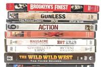 DVDs - Brooklyn's Finest, The Wild Wild West,