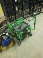 Twin tank air compressor