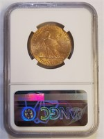 GRADED 1910 GOLD $10 DOLLAR COIN (1)