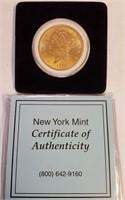 GOLD 1904 $20 DOLLAR COIN (8)