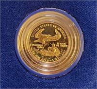 GOLD AMERICAN EAGLE $5 DOLLAR COIN(9)