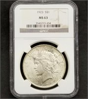 Fri. Oct. 2nd 650 Lot Collector Coin & Currency Auction