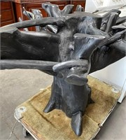 714 - DESIGNER TREE TRUNK TABLE