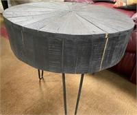 43 - BLACK STUMP COFFEE TABLE