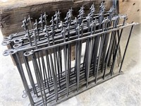 30' of Wrought iron fencing
