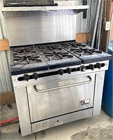 Southbend commercial 6 burner gas range