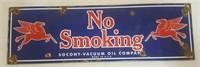 Socony-Vacuum Oil Company Porcelain Sign (16 x 5)