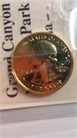 Grand Canyon National Park Arizona Quarter Coin