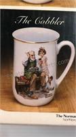 Norman Rockwell Collector's Mug Set