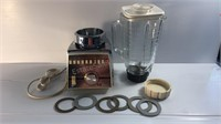 Vintage Osterizer Cyclomatic 5 Cup Blender