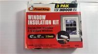 Window Insulation Kit Shrink Film & 2 Piece
