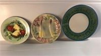 Lefton Hand Painted Decorative Plate & Other