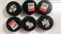 Hockey Pucks (6) & Pack of 3 Callaway Warbird