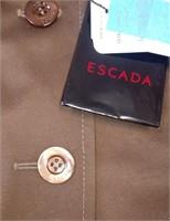 D - ESCADA NEW WITH TAGS BROWN JACKET/BLAZER