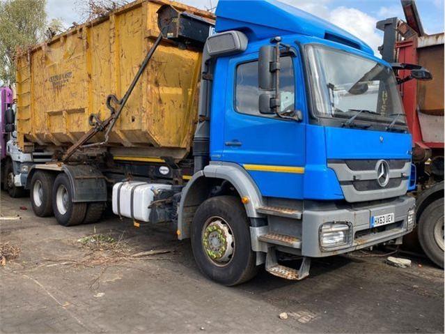2013 MERCEDES-BENZ AXOR 1823 at TruckLocator.ie