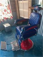 Texas Rangers Barber Style Chair
