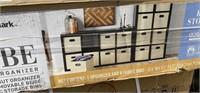 NEW IN BOX MEMBER'S MARK 8 CUBE ROOM ORGANIZER
