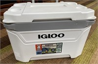 C - NEW WHITE IGLOO 60QT WHEELED COOLER 94 CANS