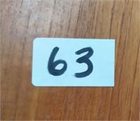 63 - CUTE WOOD SIDE  TABLE