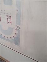 11 - FRAMED & MATTED PARIS SUITES WALL ART