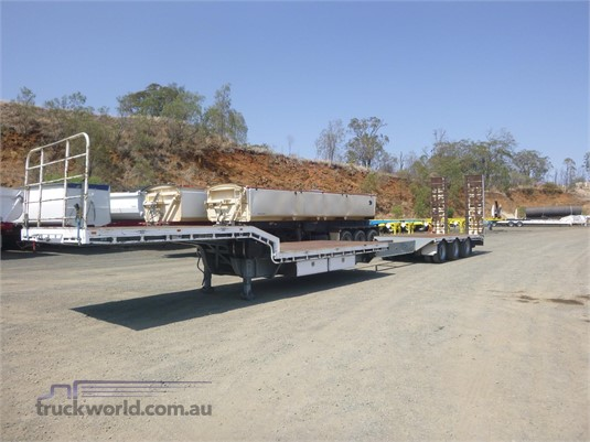 2005 Tuff Trailers Flatbed Drop Deck - Trailers for Sale