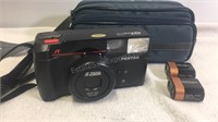 Pentax IQZoom 70 Camera w/Gemini Carry Pouch