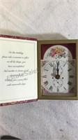 Assorted Books & Clock Book