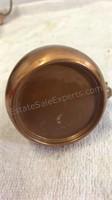 Vintage Stoneware Crock,  Copper Mug &