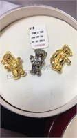 Assorted Brooches/Pins Inc Monet & Sterling