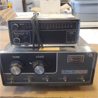 2 Old Radios/ Scanner