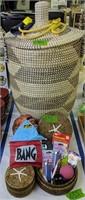 Large Basket, Water Balloon Shooter, Gag Gifts,