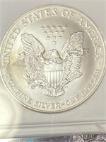 """2001 """"MS69"""" - AMERICAN EAGLE SILVER DOLLAR (22V)"""
