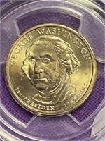 (2B) 2007-D GEORGE WASHINGTON MS-65 PRESIDENTAL $1