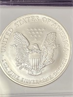 """2004 """"MS69"""" - AMERICAN EAGLE SILVER DOLLAR (23W)"""