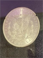 "1883 ""CC"" - SILVER MORGAN DOLLAR"