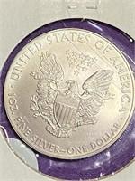 """2009 """"MS69"""" - AMERICAN EAGLE SILVER DOLLAR (29CC)"""