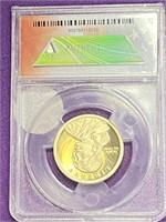 (7A) ANACS PR70DCAM GRADED PRESIDENTAL $1