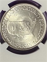 (24X) 1952 WASHINGTON-CARVER SILVER HALF DOLLAR