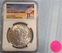 "1902 ""O""  ""MS61"" MORGAN SILVER DOLLAR (A19)"