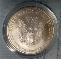 1999 - AMERICAN EAGLE SILVER DOLLAR (A45)