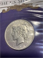 1923 - PEACE SILVER DOLLAR (49WW)
